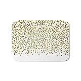 ziHeadwear Badematte, Goldkonfetti, glitzernd, 39,9 x 59,9 cm
