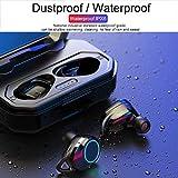 Gaddrt Wireless Bluetooth 5.0 Sports Headset Wasserdichtes und langlebiges Bass-Headset Bluetooth...