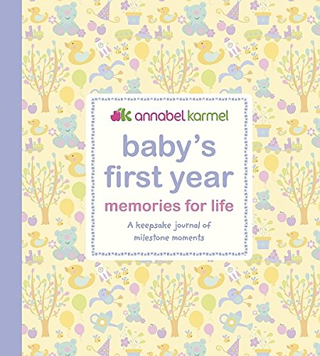 Babys-First-Year-Memories-for-Life-A-keepsake-journal-of-milestone-moments-Baby-Record-Book