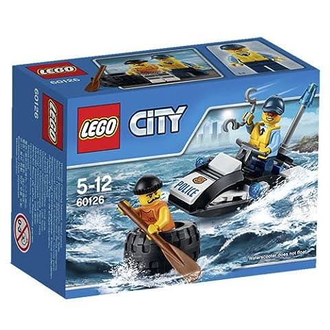 LEGO - 60126 - City - Jeu de Construction - L'Evasion du Bandit en Pneu