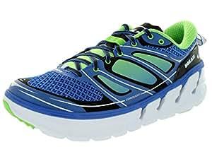 HOKA ONE ONE CONQUEST 2 BLEUE ET VERTE Chaussures de running