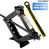 Miafamily car jack scissor jack for cars/SUV/MPV max 1.5T with hand crank trolley