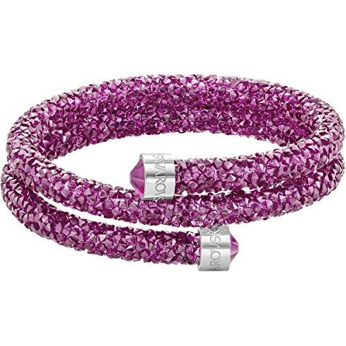 Swarovski Damen-Armreif Kristall pink 4.9 cm - 5292449