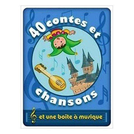 Boite a Musique 40 Contes et Chansons Garcon