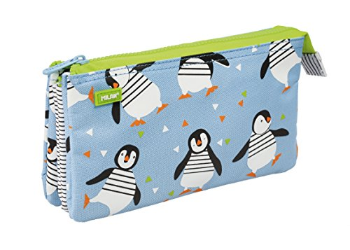 Milan Penguins Portatodo, 22 cm, Multicolor