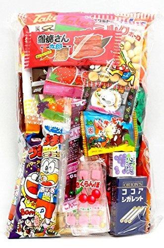 Verschiedene Japanische Junk Food Snack