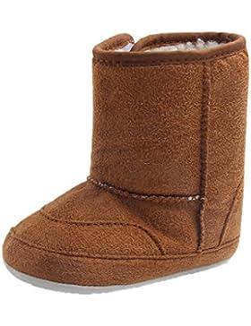 MagiDeal Winter Baby Schuhe Kinder Mädchen Jungen Stiefel Warm Schuhe Schneestiefel