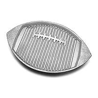 Wilton Armetale Gourmet Grillware Football Griller
