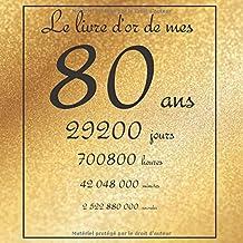 Amazonfr Cadeau Anniversaire Femme 80 Ans