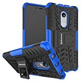 Best Covers For Note 4s - Bracevor XRDN4DKSBU Back Case Cover with Kickstand Review