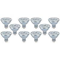 Osram LED-Reflektorlampe  Warm White (2700 K)   Sockel GU5.3   Dimmbar   ersetzt Reflektorlampen mit 35 W   5,00 W   LED SUPERSTAR MR16 12 V