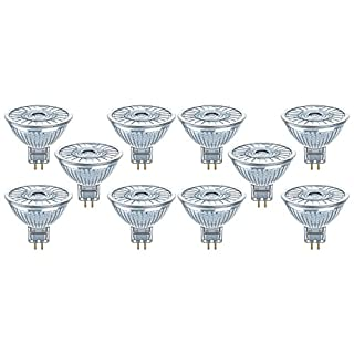 Osram LED SUPERSTAR MR16 / Spot LED, Culot GU5.3, Dimmable, 5W Equivalent 35W, 12 V, Angle : 36°, Blanc Froid 4000K, Lot de 10 pièces (B01HD539D4) | Amazon price tracker / tracking, Amazon price history charts, Amazon price watches, Amazon price drop alerts
