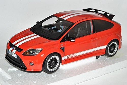 Preisvergleich Produktbild Ford Focus RS Rot Weiss Le Mans Classic Edition 2008-2010 3 Türer DA3 1/18 Minichamps Modell Auto