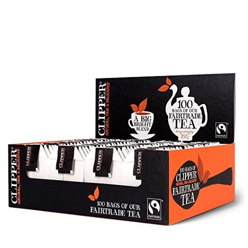(4 PACK) - Clipper - Fairtrade Tea String & Tag | 100 Bag | 4 PACK BUNDLE