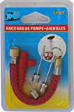Aiguilles (3) ET raccord à pompe pour ballon Embouts De Gonflage football, basketball, rugby ,handball