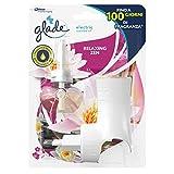 Glade Deodorante per Ambienti Elettrico - Confezione da 1 Diffusore + 1 Ricarica, fragranza Relaxing Zen