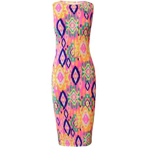 sofias-closet-womens-neon-colors-midi-outfit-splash-tie-dye-electric-wave-pattern-dress