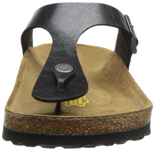 Birkenstock GIZEH BF GRACEFUL 943831, Tongs Noir (Graceful Licorice)