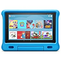 Kid-Proof Case for Fire HD 10 tablet   Compatible with 9th generation tablet (2019 release), blue