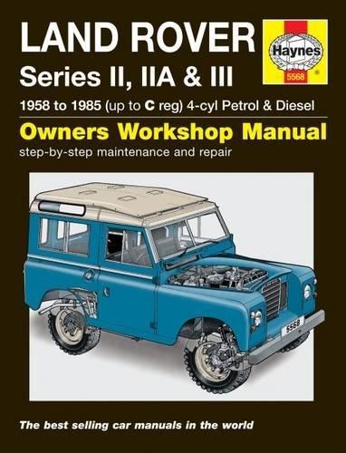Land Rover Series II, IIa & III Petrol & Diesel Se por Haynes Publishing
