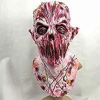 FF Máscara De Halloween Horror Zombie Celebración De Días Festivos Emulsión Cabeza Llena Cosplay