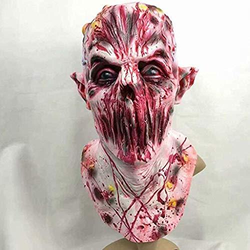 LFF.FF Halloween Horror Zombie Maske Urlaubs Party Emulsion Voller Kopf Cosplay Schreckliche Totenmaske -