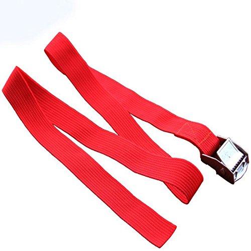 Breite Nylon Pack Cam Bindengurt Lash Gepäck Tasche Gürtel Metallschnalle Outdoor Survival Tools (Taschen Heavy-duty Nylon)
