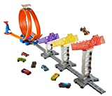 #2: Hot wheels Super Score Speed Way Track Set, Multi Color