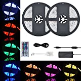 COSANSYS LED Streifen 10M RGB LED Strip 5050 300LEDs IP65