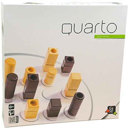Gigamic Quarto Strategy Classic Game, Multi Color