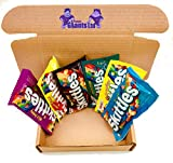 PURPLEGIANTS 6 x Skittles USA Mix | Brightside, Sweet & Sours, Sweet Heat, Tropical Fruits, Wild Berry, Trick Plays - In der offiziellen Box