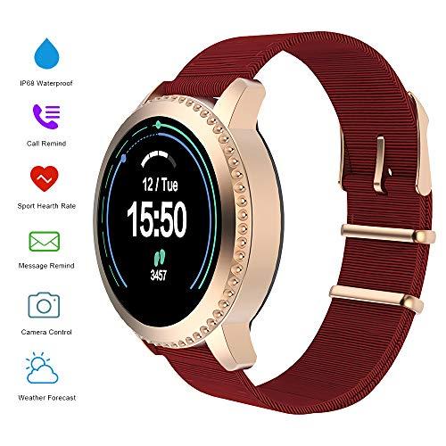 MATEYOU Smart Armbanduhr, Mate5 Sport Herren Fitness Tracker Pulsmesser Activity Tracker Uhr mit Schlafmonitor, Schrittzähler, Kalorienzähler, wasserdichte Schrittzähleruhr für Kinderfrauen