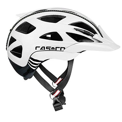 Casco Activ 2 Fahrradhelm, Weiß-Schwarz, M