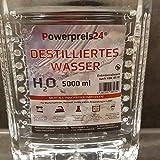 Destilliertes Wasser 20 Liter Powerpreis incl Versand 10,99 Euro demineralisiert