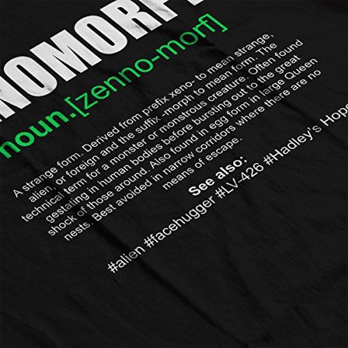 Xenomorph Dictionary Definition Alien Men's Vest Black
