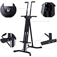 Costway Climbing Machine Gym Climber Vertical Cardio Exercise Fitness Stepper