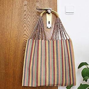 Einkaufstasche Boho Tenango 'sesam'; Handgewebt, Handtasche, HANDARBEIT, Tasche, Geschenkidee für Frauen