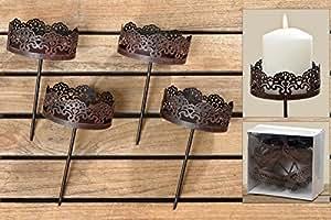 adventskranz stecker kerzenstecker. Black Bedroom Furniture Sets. Home Design Ideas