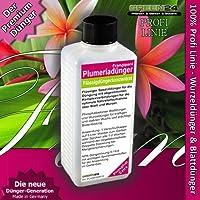 Plumeria Frangipani cibo Fertilizzante liquido HighTech NPK P, radici, terra, foglie,-Fertilizzante per piante per alimenti professionale