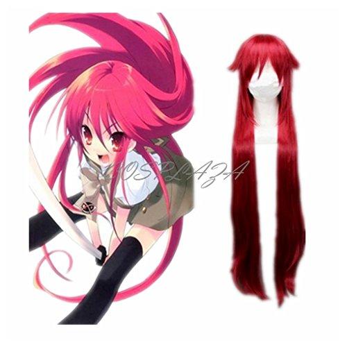 COSPLAZA Perücke Cosplay Wig Black Butler Grell Sutcliff Lange weinrot Anime Haar (Black Maske Butler)