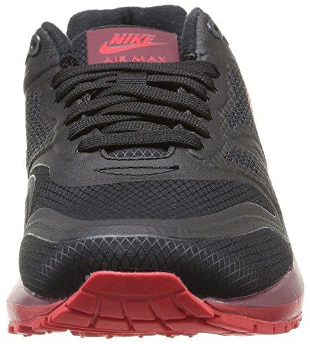 Nike - Air Max Lunar1 Wr, Pantofole Da Donna Nero (schwarz (negro / Actn Rojo-tm Rd-hypr Pnch))