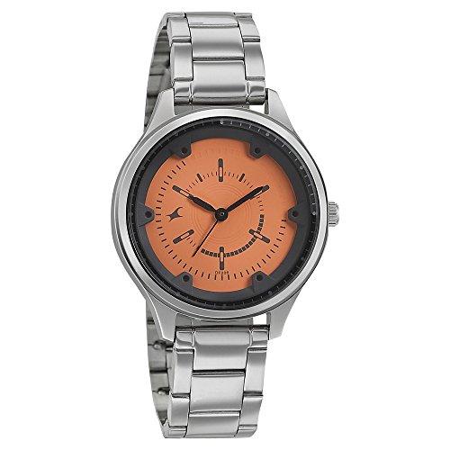 51aQKw4jFaL - Fastrack 6138SM02 Orange Women watch