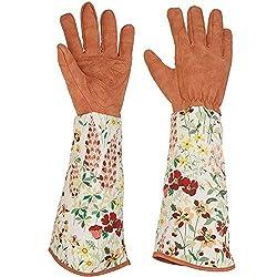 15 cm Trooki professionelle Rose beschneiden dornschutz gartenhandschuhe Frauen Lange unterarm schutzhandschuhe 37