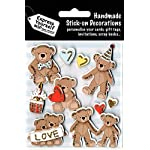 Express Yourself Teddy Bear Stick-On Decorations