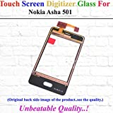 Premium High Quality Replacement Touch Screen Glass For Nokia Asha 501-Black