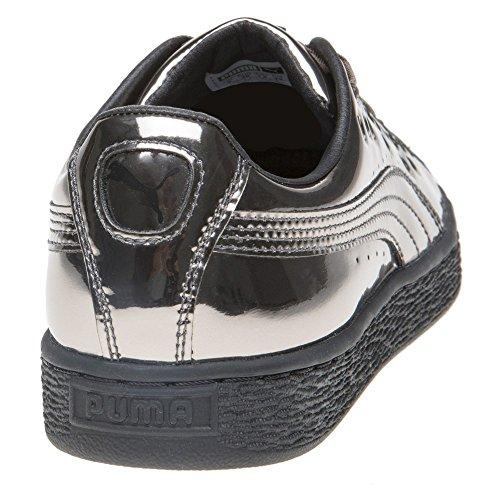 Puma Basket Xl Lace Damen Sneaker Metallisch Metallisch