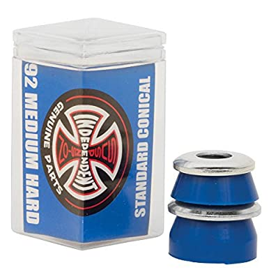 Independent-Radiergummi-Truck skateboard Set Conical Medium Hard 92A blau