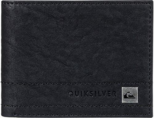 8490f548c4 Portafoglio In Tre Sezioni Quiksilver Stitchy Ii Nero (M , Nero)