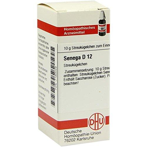 DHU Senega D12, 10 g Globuli