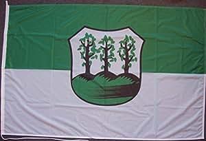 Flagge Fahne Bergedorf ca. 100 x 150 cm, 110 g/m² Polyesterwirkware